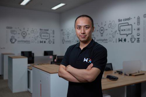 上海企界实业发展有限公司总裁、Workingdom品牌联合创始人周克力