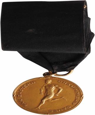 1915年远东运动会金质奖牌。