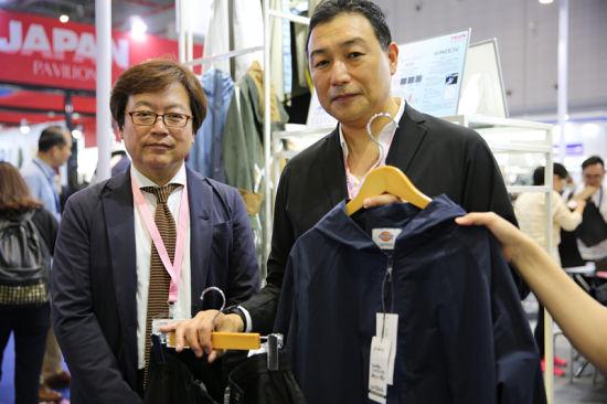 图为帝人为品牌Dickies制作的2018年春夏系面料及服装