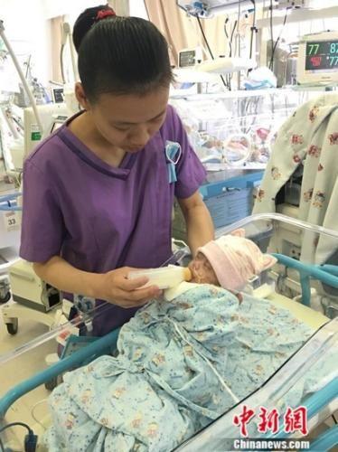 新金沙线上娱乐:上海成立首个重症新生儿人乳库_造福高危新生儿