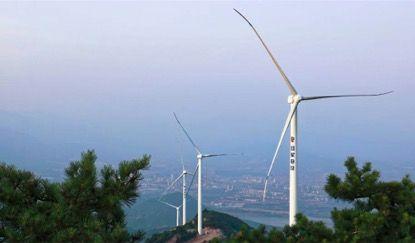 自主投资风电项目并网发电