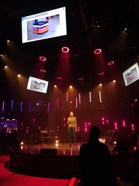 木蚁机器人算法工程师在芬兰Slush国际创投大会上的主题演讲