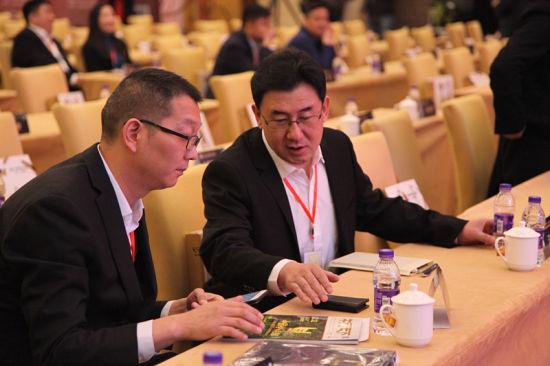 中国食品报社社长助理与牛人俱乐部终生荣誉主席马广胜
