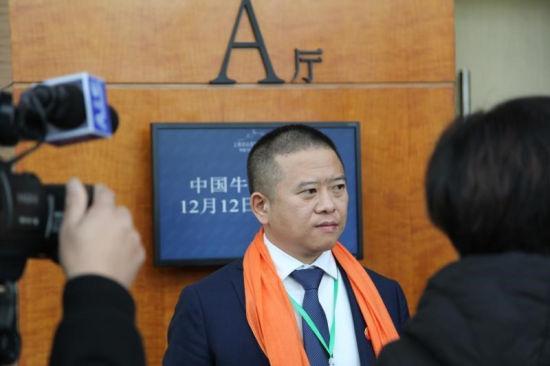 牛人俱乐部副主席、新乡市雨轩清真食品股份有限公司董事长王峰致辞