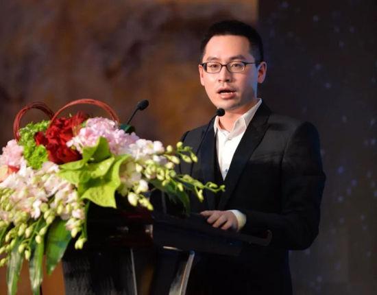 喜盈门国际商业连锁企业执行总裁魏明洲先生致辞。/官方供图