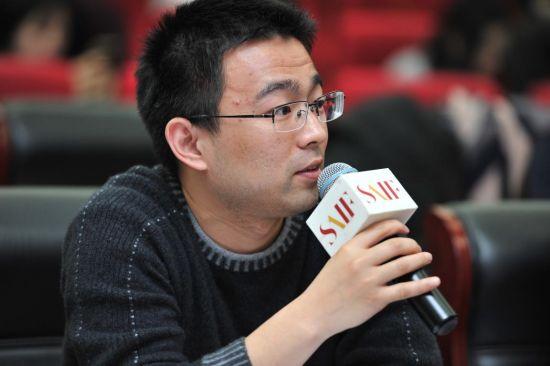 快牛金科风控建模负责人陈家悦发言。
