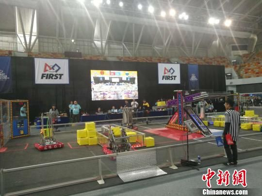 "pk10大小单双必赢解图:""FIRST机器人竞赛""首度来沪:中国青少年机器人竞技""量多质升"""