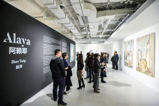 赵洋中国大陆首次美术馆个展《阿赖耶》。 /官方供图