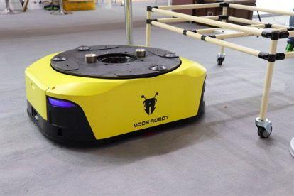 木蚁机器人W3,可承载500kg重量