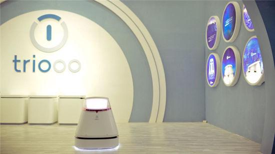 Triooo禧涤智能,亮相上海国际清洁技术与设备博览会。/官方供图