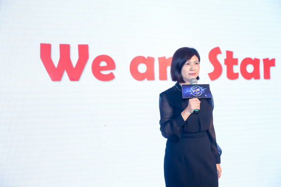 PlayABC少儿英语总经理郑怡期待双方的合作结出硕果。