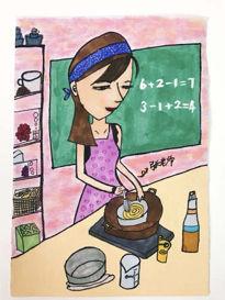 上海市打虎山路第一小学郑高馨(7岁 )心中的好老师。