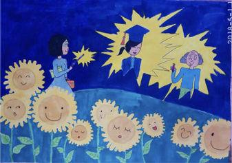 浙江省温州市实验小学刘丁丹(10岁 )的作品。