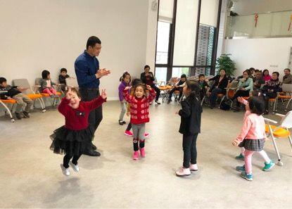 上海戏剧学院教师、博士李世涛培训的表演基础训练课程