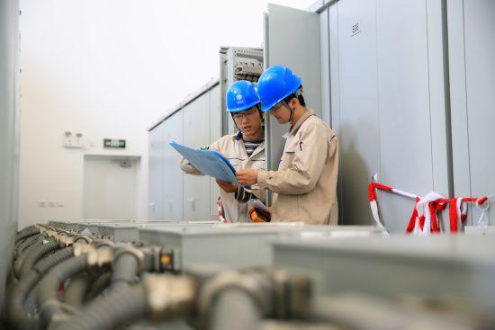 青浦供电公司开展自愈系统试验,确保为进博会场馆提供坚强可靠供电。