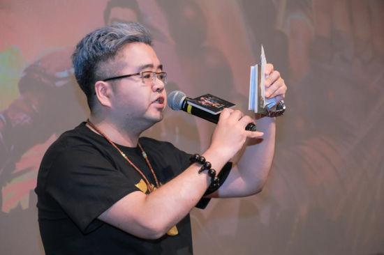 《西行纪》动画番剧配音导演 角色白狼的声优:沈达威/官方供图