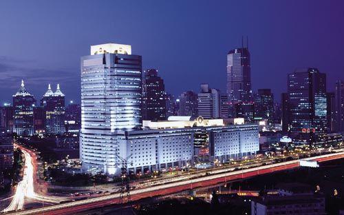上海世贸商城夜景