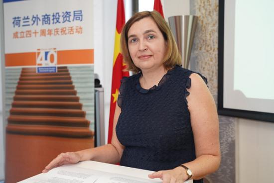 荷兰王国驻上海副总领事欧雅琳Onny Jalink到场祝贺。