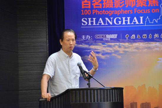 中国新闻摄影学会会长徐祖根