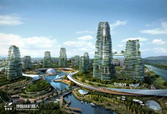 碧桂园进军智能制造 5年打造机器人产业生态圈