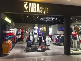 NBA Style店铺全面升级,打造潮流新风尚