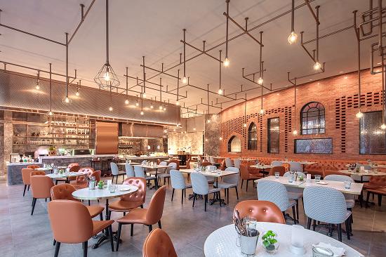 虹桥英迪格酒店餐厅Craft Café。