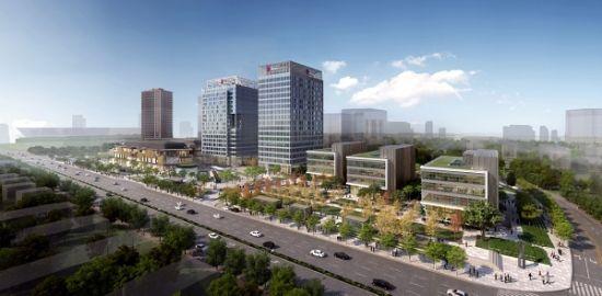 国浩长风城项目蓝图。