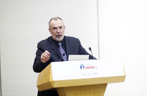 LNG2019指导委员会代表、国际燃气联盟(IGU)会议总监Rodney Cox