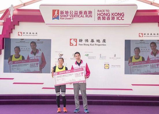 乐青华获颁个人赛女子组总冠军。