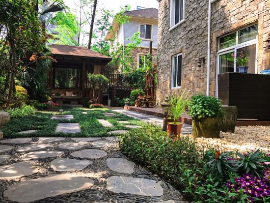 美居为业主打造的私家花园。