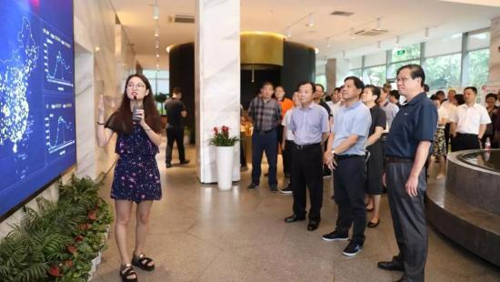 杭州市西湖区党政代表团考察云集
