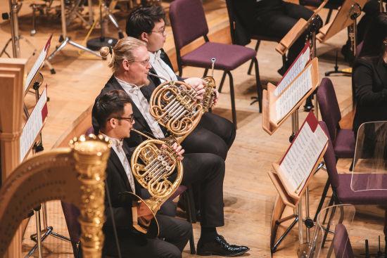 上海交响乐团与北德广播易北爱乐乐团第四次联合音乐会如期上演。 /上海交响乐团 供图