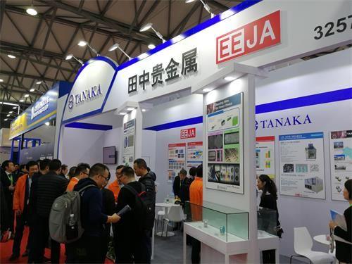 田中贵金属集团亮相上海国际半导体展