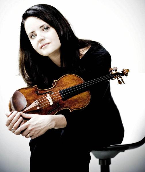 小提琴贝芭・丝凯德。 /官方供图