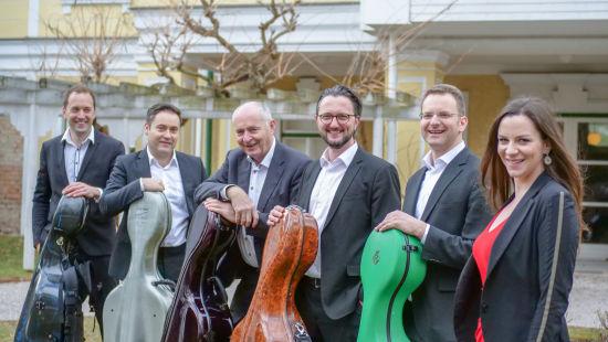 维也纳5+1大提琴室内乐团。 /官方供图
