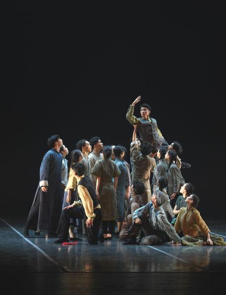 第一届长三角专业舞蹈展演。 /祖忠人 摄