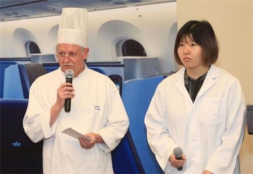 德国大厨路德维希・施特罗贝介绍荷航最新菜品