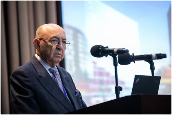 厄瓜多尔驻纽约联合国大使Luis Gallegos 分享全球道路安全现状
