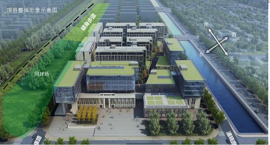 图:浦江镇项目规划图。