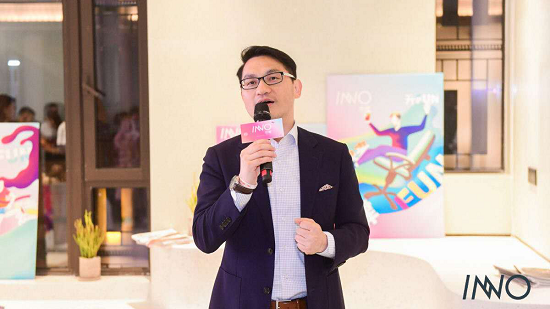 图:瑞安房地产执行董事、中国新天地执行董事张斌致辞。