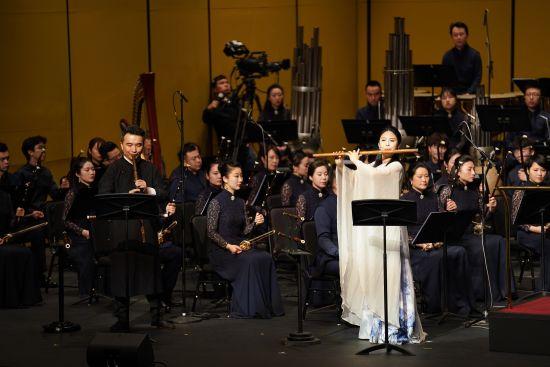 上海民族乐团《锦绣中华・最忆是江南》民族管弦乐音乐会。 /官方供图