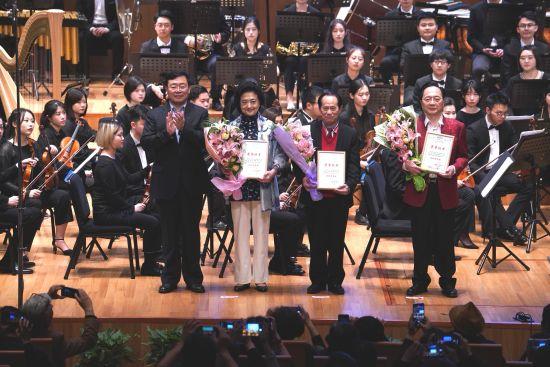 第36届上海之春国际音乐节落下帷幕。 /祖忠人 摄