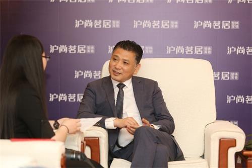 沪尚茗居总裁徐泽宇接受媒体采访