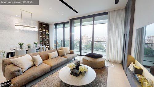 六星级的曼谷泰颐悦榕轩公寓