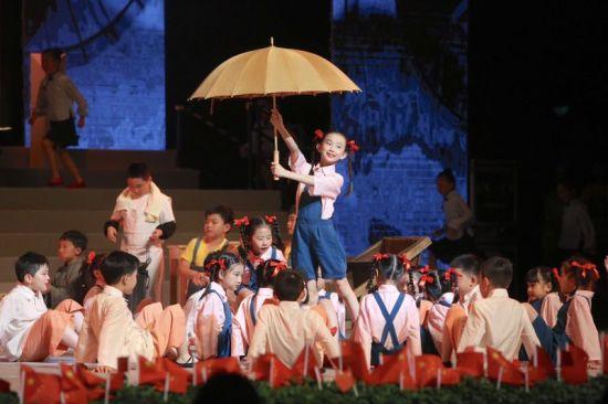 宋庆龄学校第九届国际艺术节拉开帷幕 多国少年