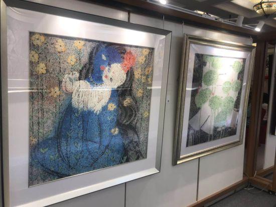 旅美艺术家姜学炳携精心创作代表作亮相上海 惊