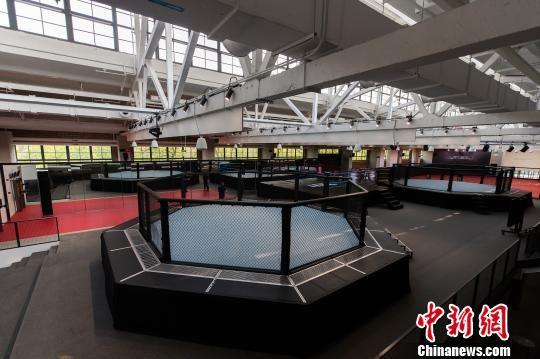 世界上规模最大的综合格斗训练和发展中心――UFC精英训练中心上海6月20日正式揭幕 官方供图