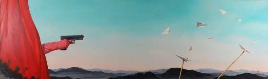 范佳的《大风景 No.75》
