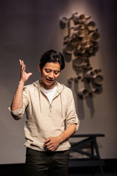 体验式单人喜剧《每一件美妙的小事》。 /尹雪峰 摄