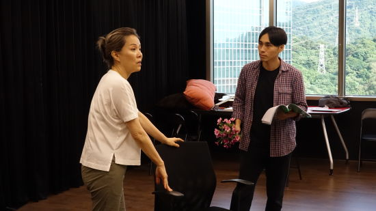 《遇见自己》pai'lian'zhao。 /上剧场 供图